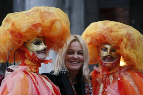 Carmela al Carnevale di Venezia