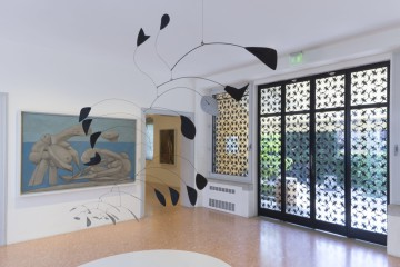 Interior of the Peggy Guggenheim Collection, Venice, Italy